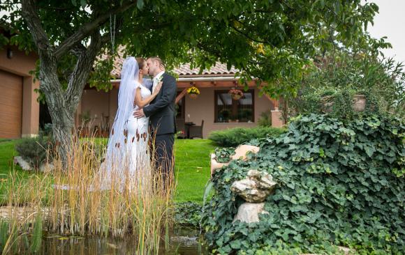 Mira és Ricsi - esküvői fotózás