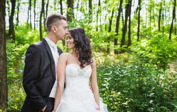 Esküvői fotózás - Zsani és Dávid