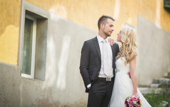 Esküvői fotózás - Timi és Roli