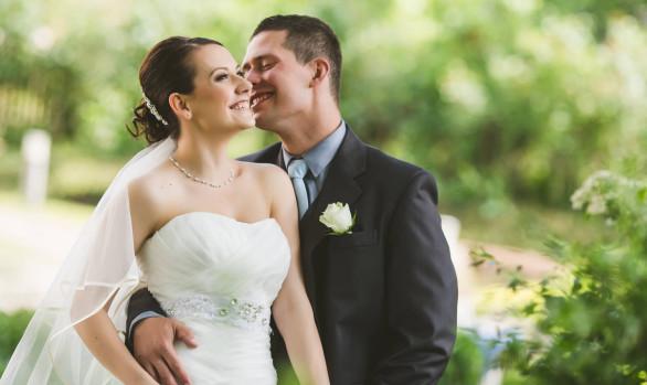 Esküvői fotózás - Évi és István