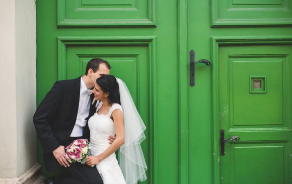 Esküvői fotó - Lucia és Dani